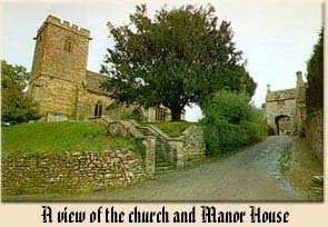 A view of the church and Manor House