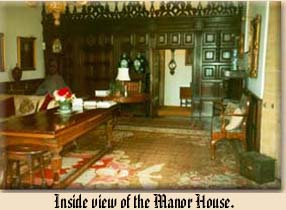 Inside view of the Manor House